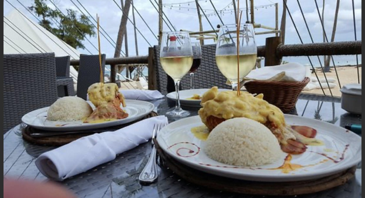 Catamaran booze cruise beach lunch