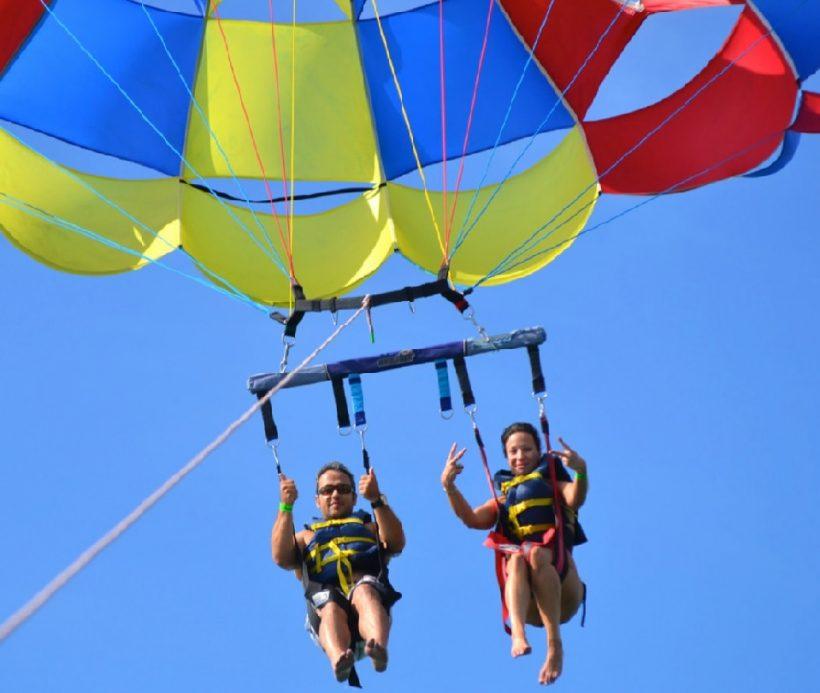 parasailing y catamaran punta cana