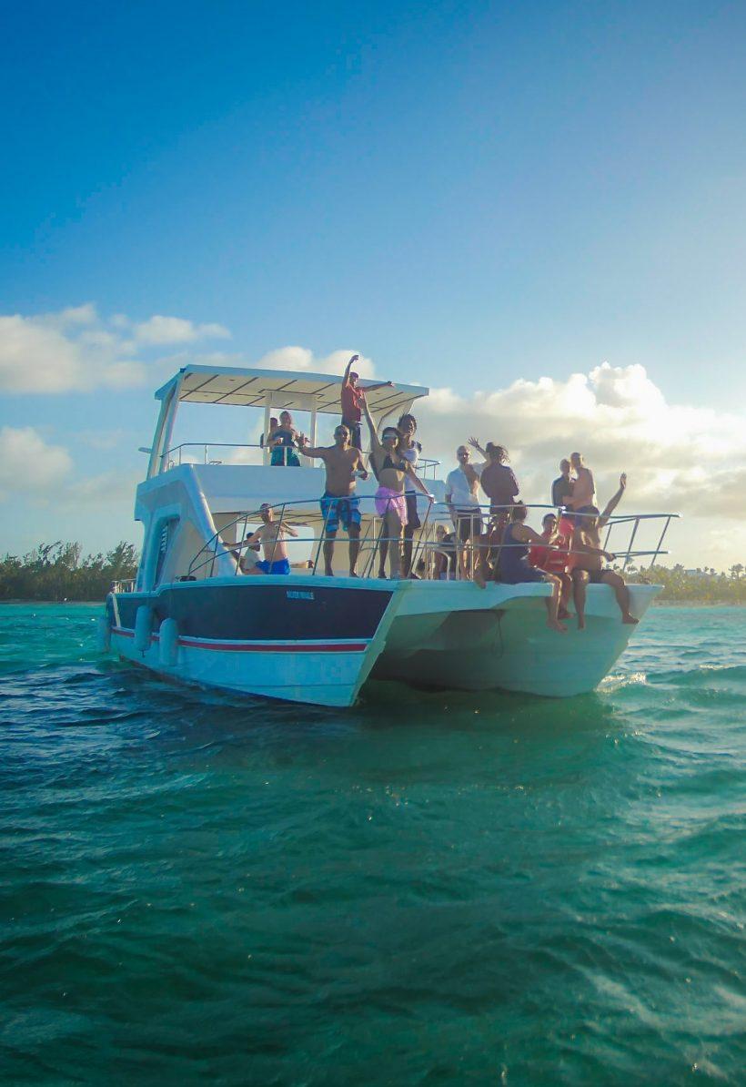 catamarán privado with snorkeling Punta Cana