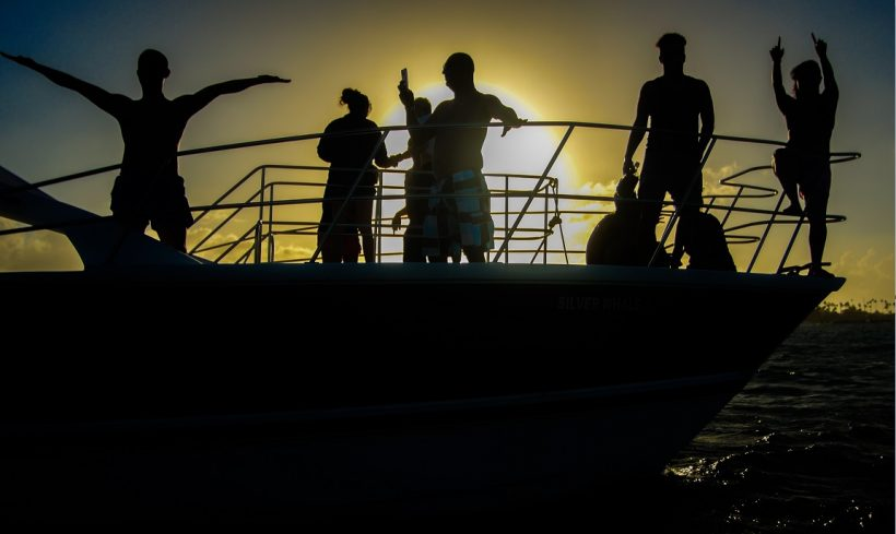 catamaran sunset punta cana