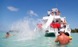 party boat slide punta cana